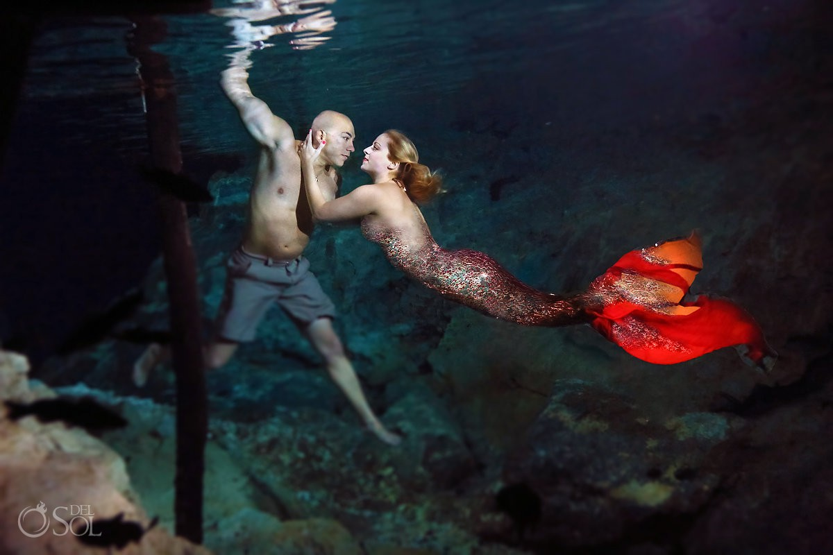 mermaid proposal del sol photography del sol photography underwater