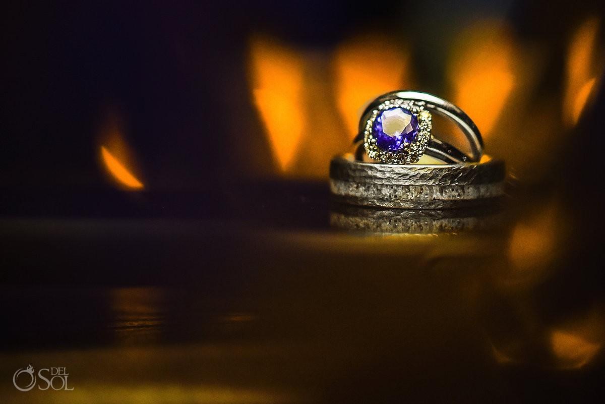 wedding rings Azul Beach Hotel by Karisma, Puerto Morelos, Mexico