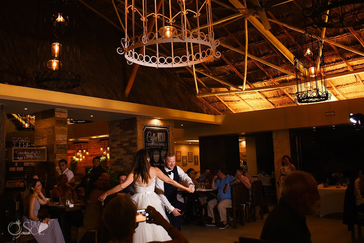 First dance emotion love and movement Azul Beach Hotel by Karisma, Puerto Morelos, Mexico