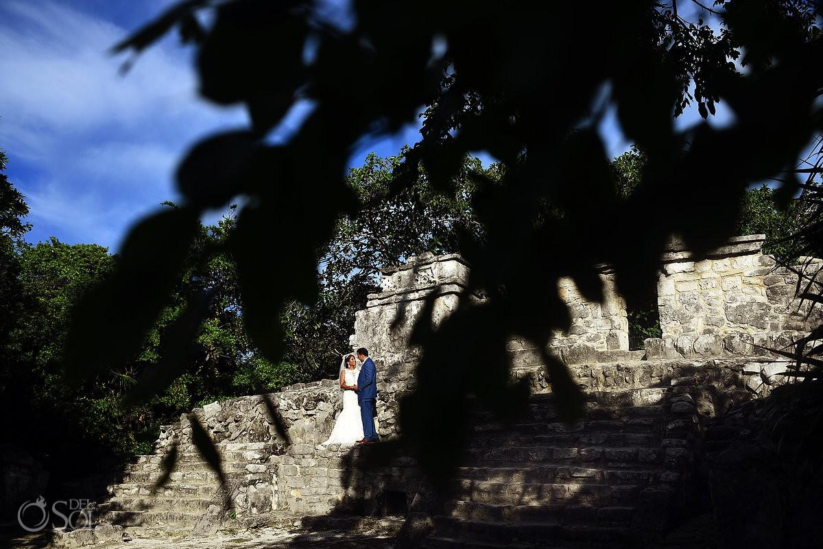 Destination Wedding Guadalupe Chapel / Xcaret Park Riviera Maya Mexico Playa del Carmen Mexico