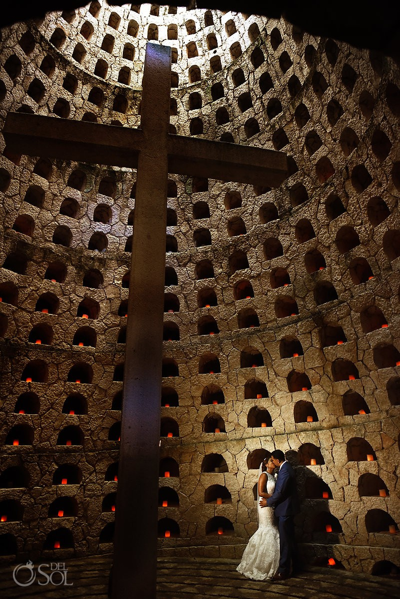 Guadalupe Chapel / Xcaret Park Riviera Maya Mexico Playa del Carmen Mexico
