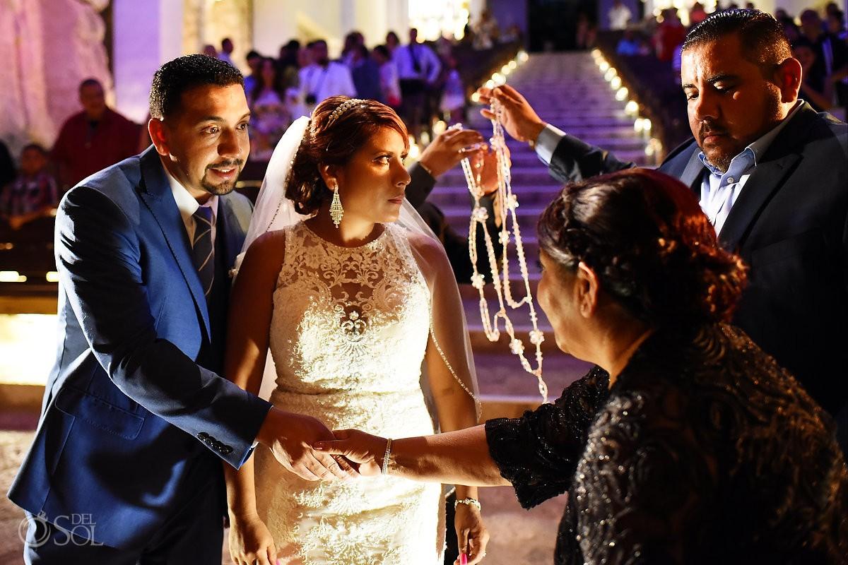 Wedding Family moments Guadalupe Chapel / Xcaret Park Riviera Maya Mexico Playa del Carmen Mexico