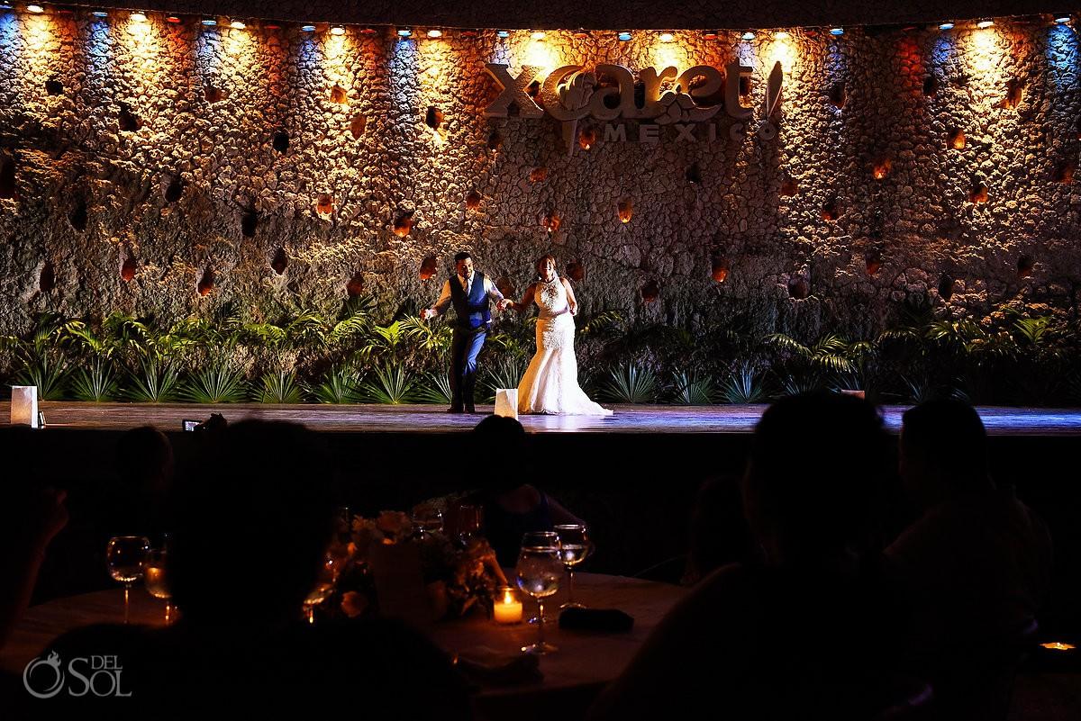 Salsa First Dance Guadalupe Chapel / Xcaret Park Riviera Maya Mexico Playa del Carmen Mexico