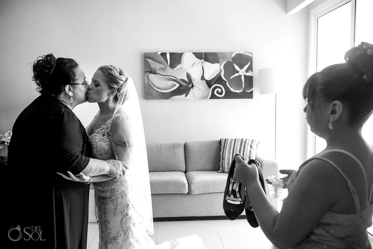 family love moment getting ready Now Jade Riviera Cancun Puerto Morelos Destination wedding