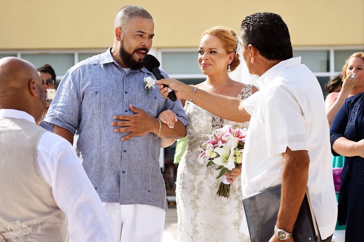 bride entrance Now Jade Riviera Cancun Puerto Morelos Destination wedding