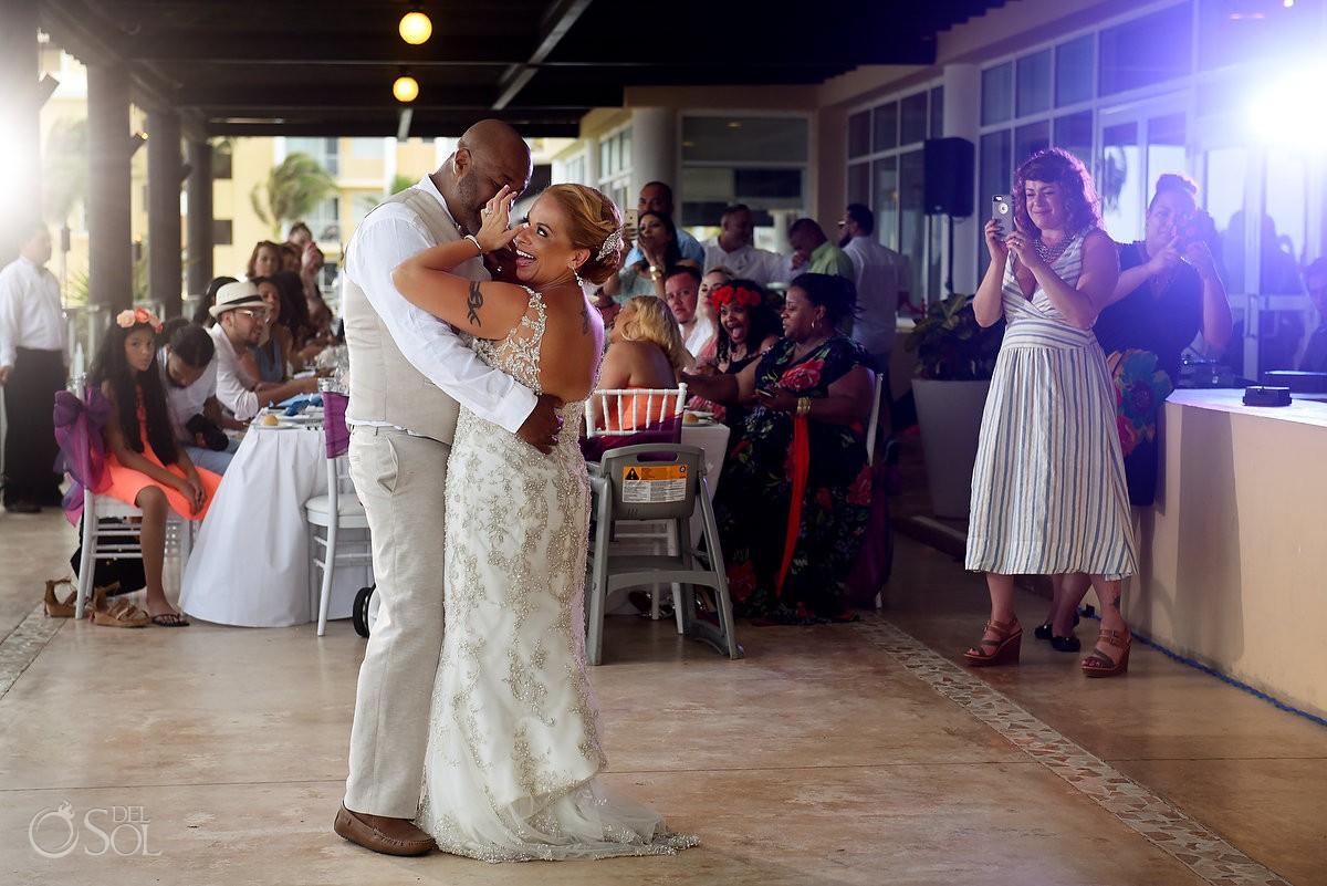 reception entrance Now Jade Riviera Cancun Puerto Morelos Destination wedding