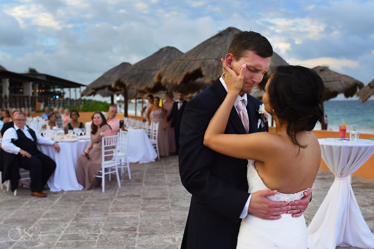 first dance Now Sapphire Riviera Cancun Mexico