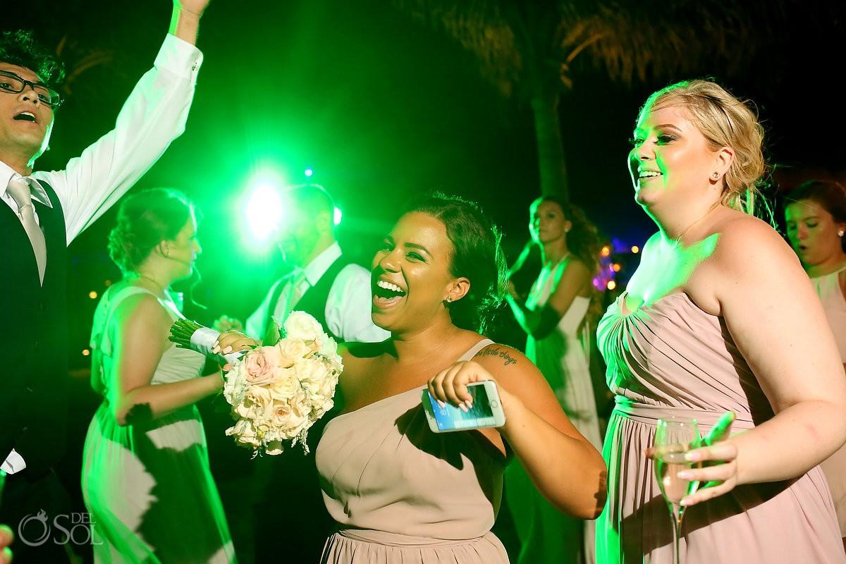 destination wedding reception Now Sapphire Riviera Cancun Mexico