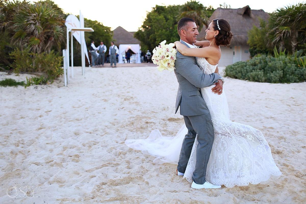 destination wedding Portraits Gabi Bridge Paradisus Playa del Carmen La Perla Mexico