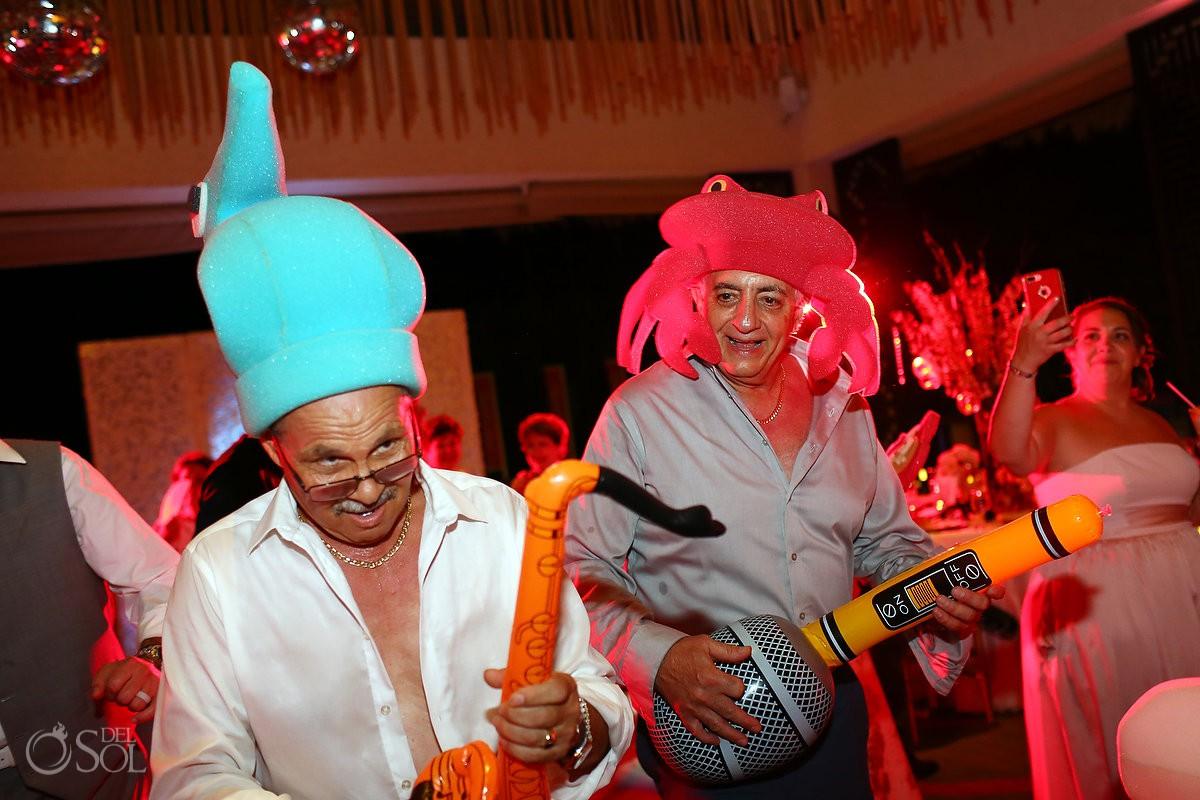 party destination wedding Reception Gabi club Paradisus Playa del Carmen La Perla Mexico