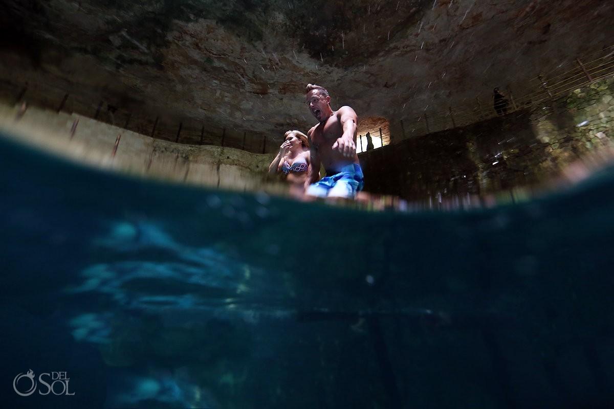 cenote hubiku yucatan peninsula mexico pink romance underwater photography #ExperienciasInfinitas