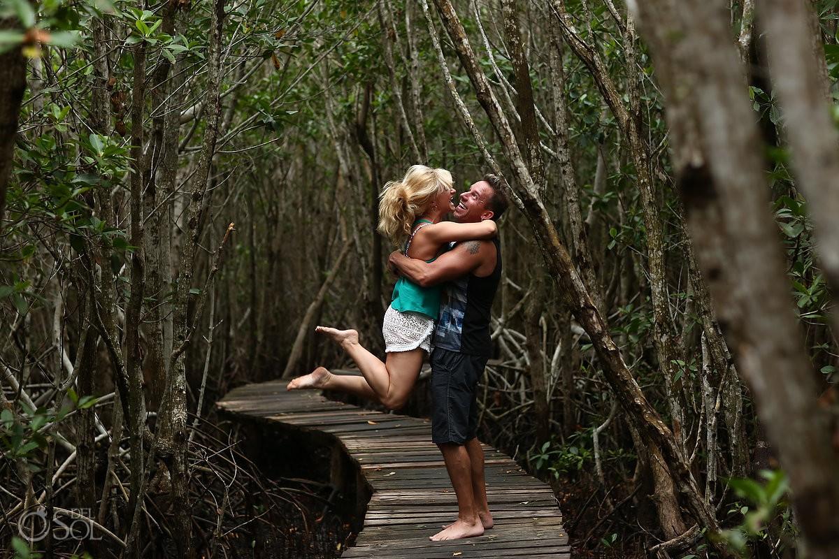 San Felipe Yucatan Mexico pink romance audrey and richy mangrove romance