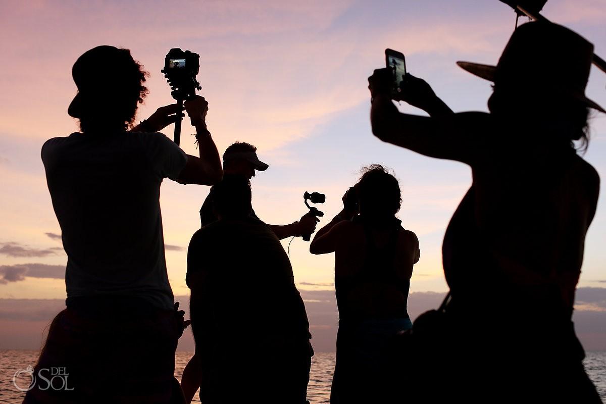 Behind the scenes del sol photography pink romance ria lagartos yucatan mexico