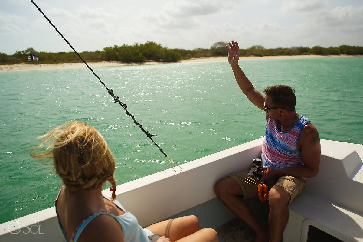 Rio Lagartos boating adventure Yucatan Mexico Pink Romance Del Sol Photography