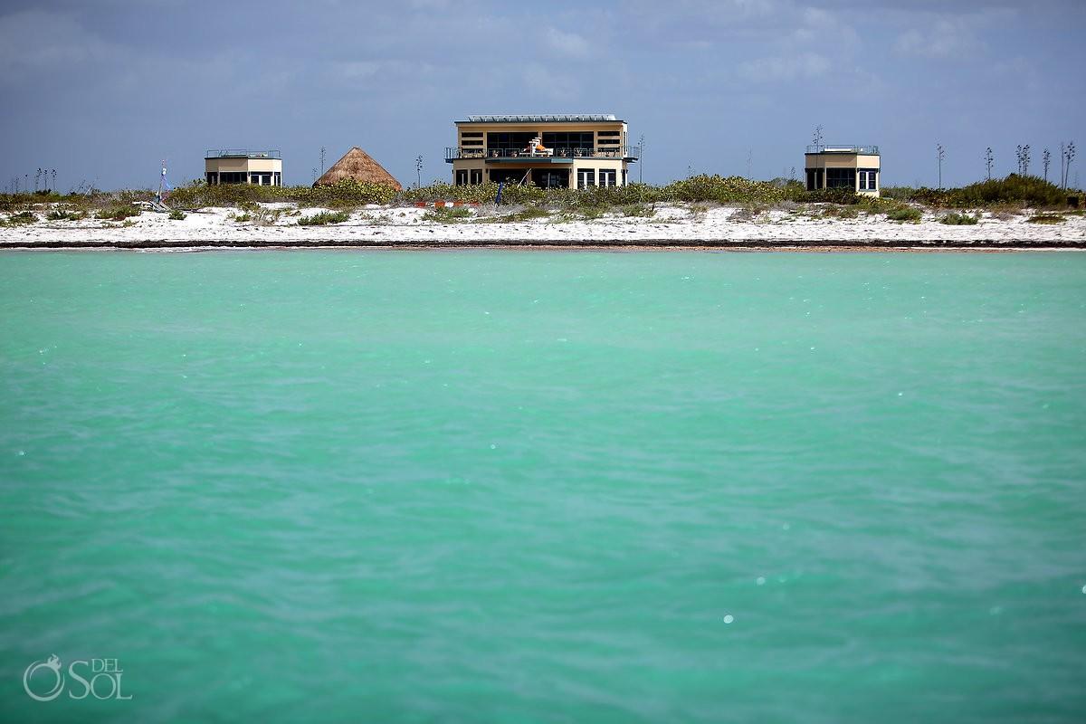 Nirvana Blue hotel Ria Lagartos Yucatan Mexico #ExperienciasInfinitas