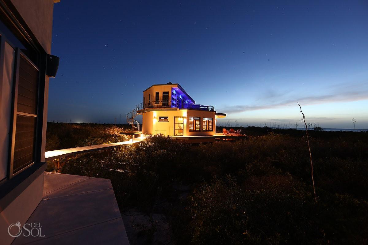 Nirvana blue hotel sunset photo Yucatan Mexico PInk Romance love adventure #ExperienciasInfinitas