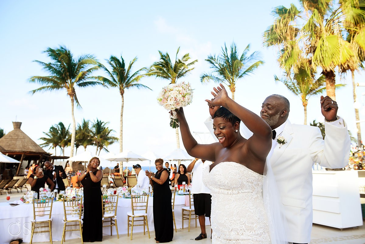 Happiest first dance Dreams Riviera Cancun Resort, Mexico