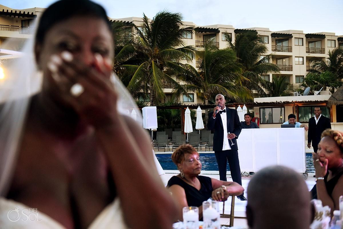 Fun best man speeches Dreams Riviera Cancun Resort, Mexico