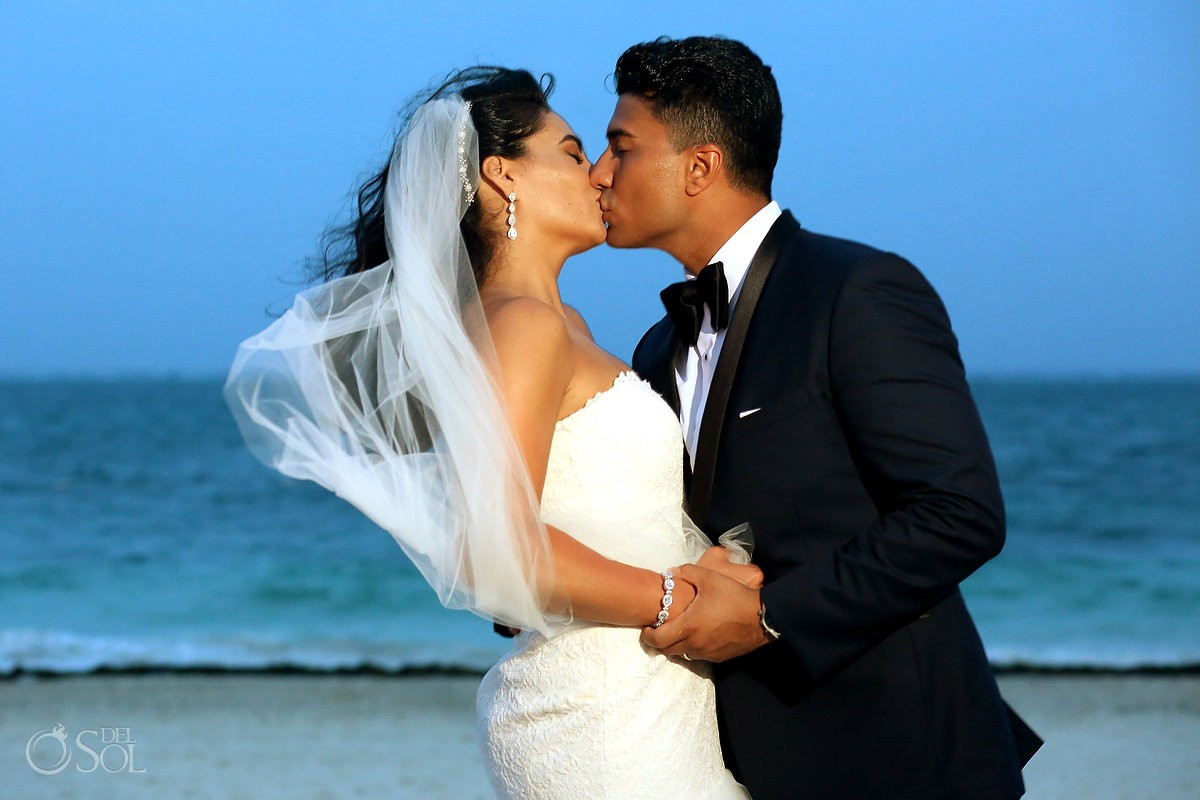 Dreams Riviera Cancun Grand Staircase Wedding - Jennifer and Aaron