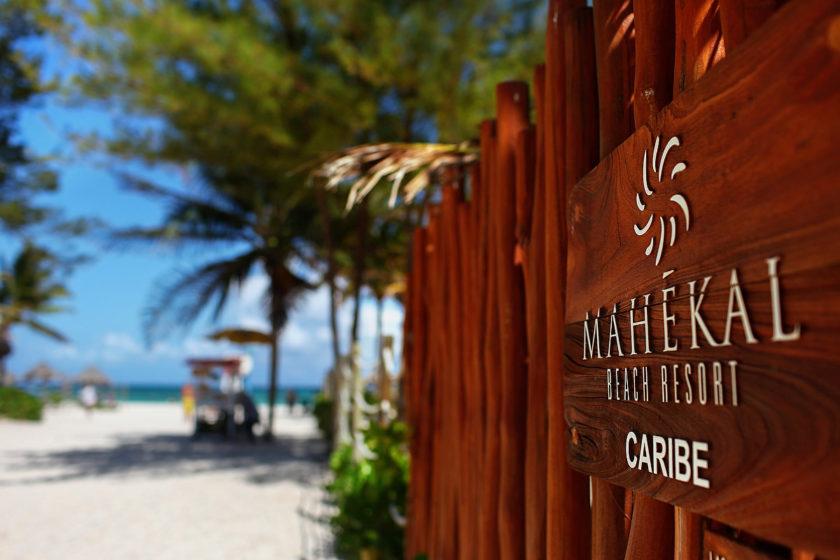 beach entry Mahekal Beach Resort Playa del Carmen Mexico