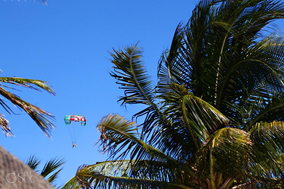 parapuente destination wedding venue Mahekal Beach Resort Playa del Carmen Mexico