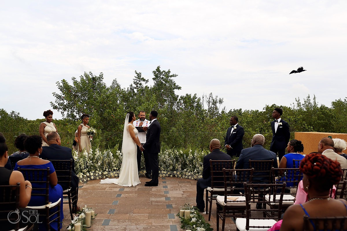 Banyan Tree Mayakoba Wedding photos