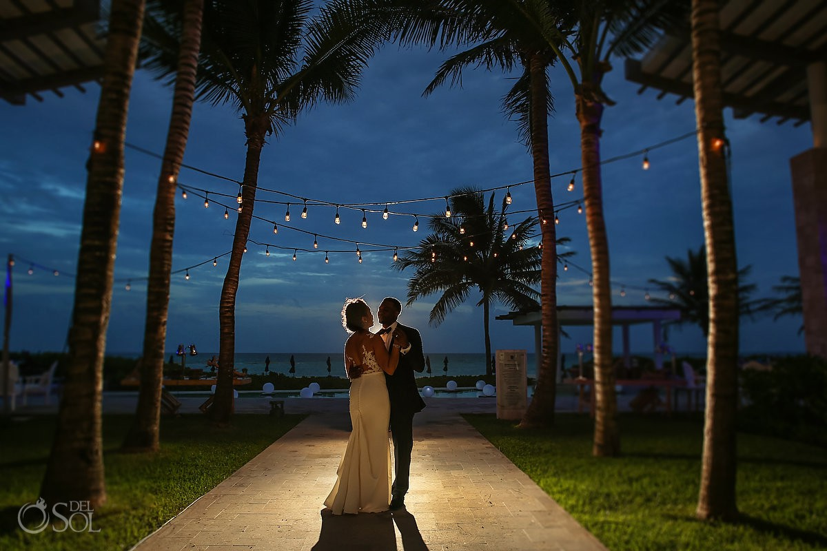 Banyan Tree Mayakoba wedding reception
