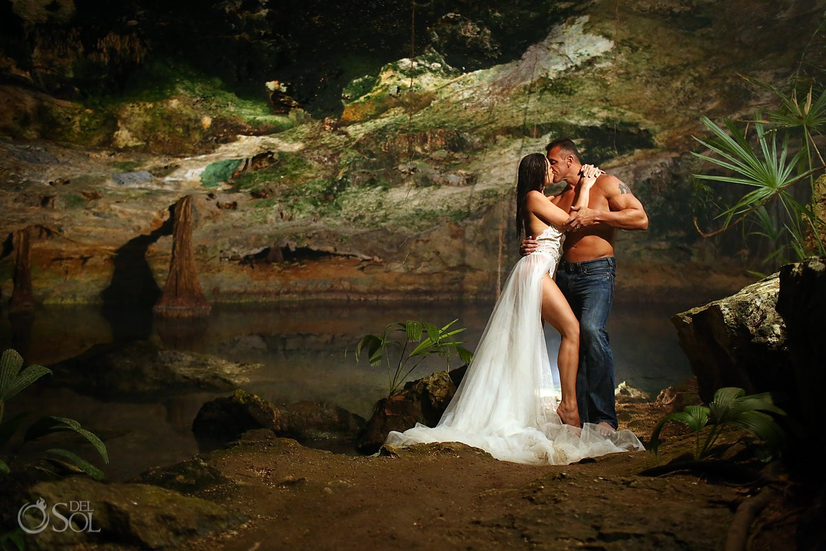 HOT couples wedding boudoir Adam and Eve Trash the dress with white lace bridal lingerie and veil skirt