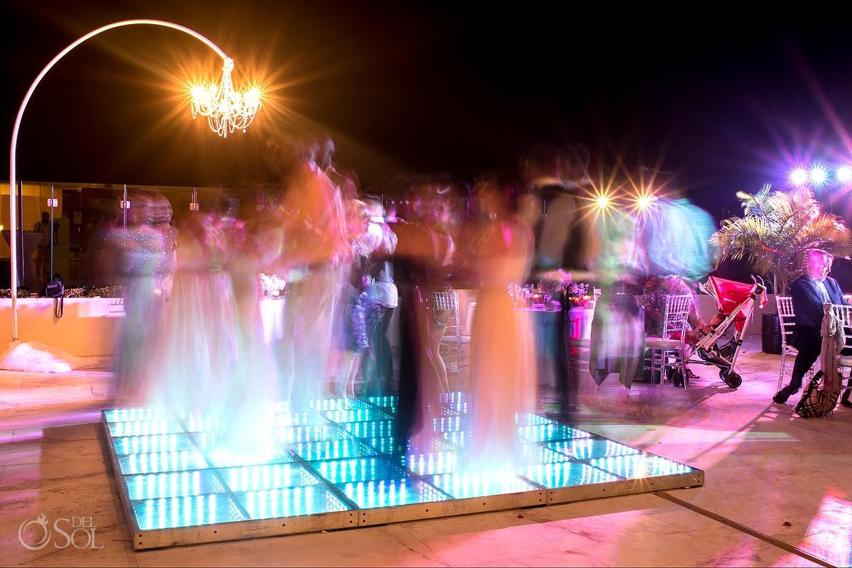 Destination Wedding reception Grand Velas Riviera Maya Playa del Carmen Mexico.