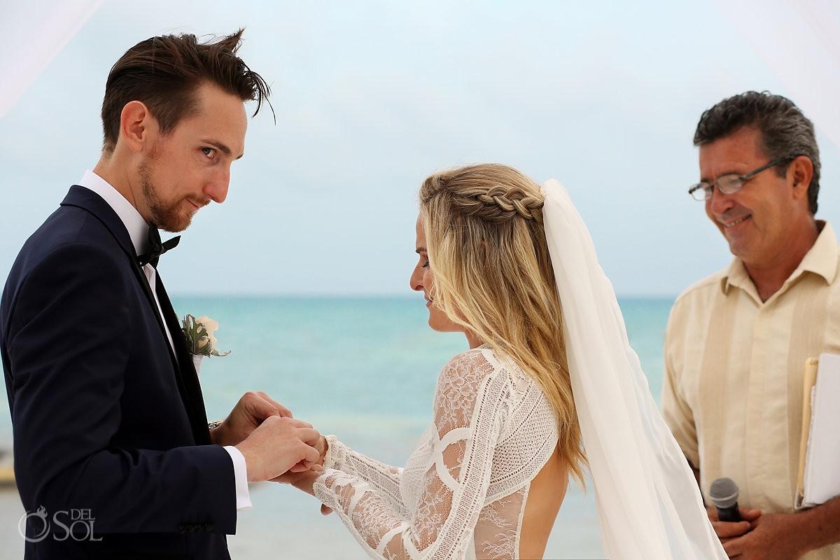 Grand Velas Beach Wedding Photography