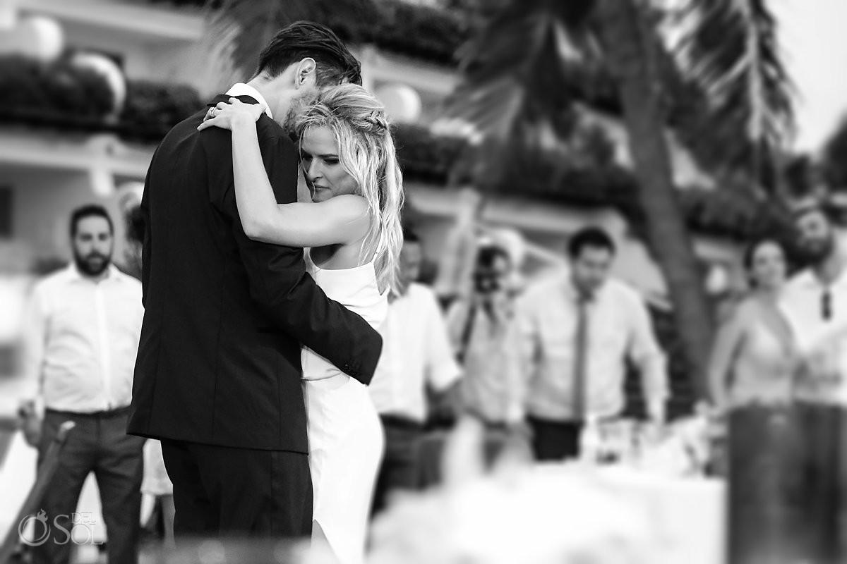 Grand Velas Beach Wedding First Dance