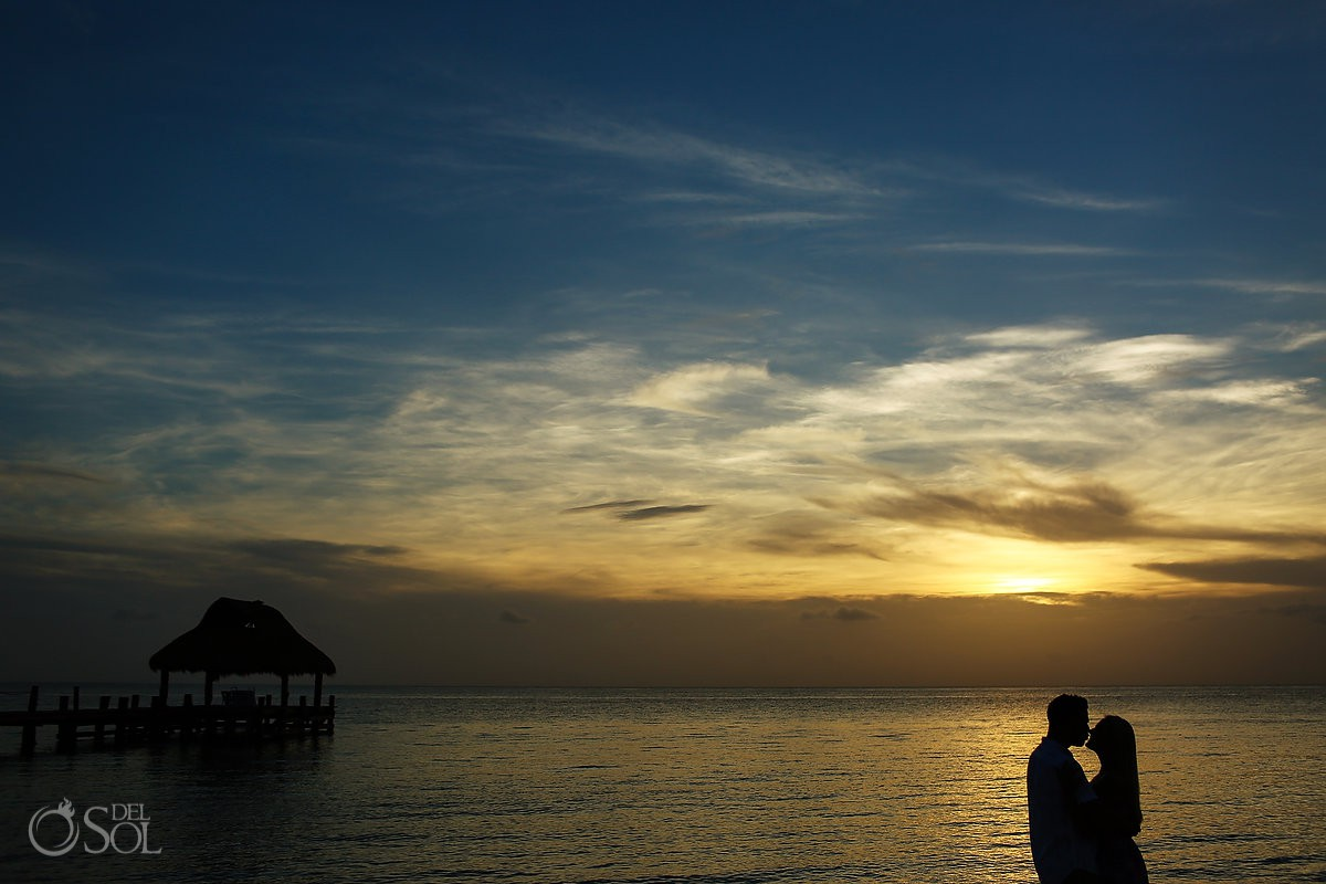best Engagement and Beach Portraits venue Secrets Aura Cozumel Cozumel Mexico