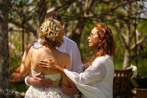 Celebration love Surprise Vow Renewal Portraits Tulum Mexico
