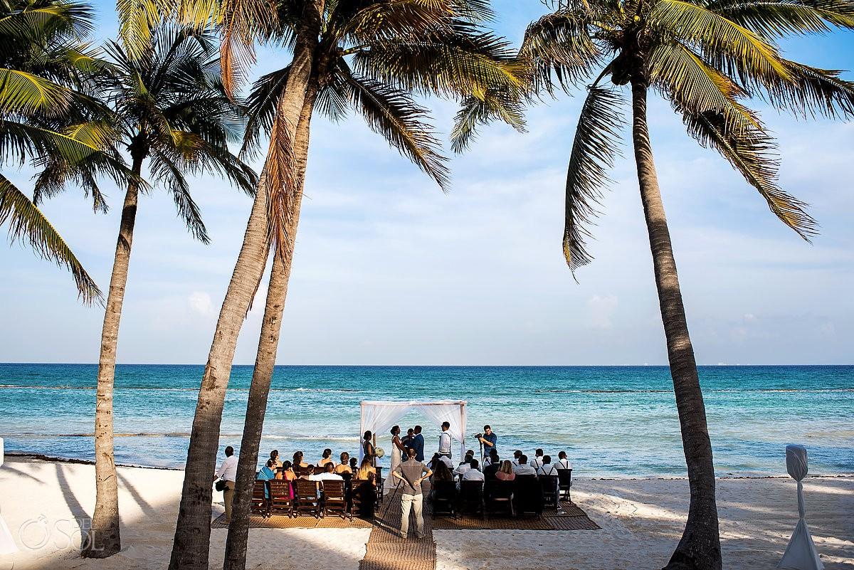 Destination best wedding venue locations Grand Velas Riviera Maya Playa del Carmen Mexico