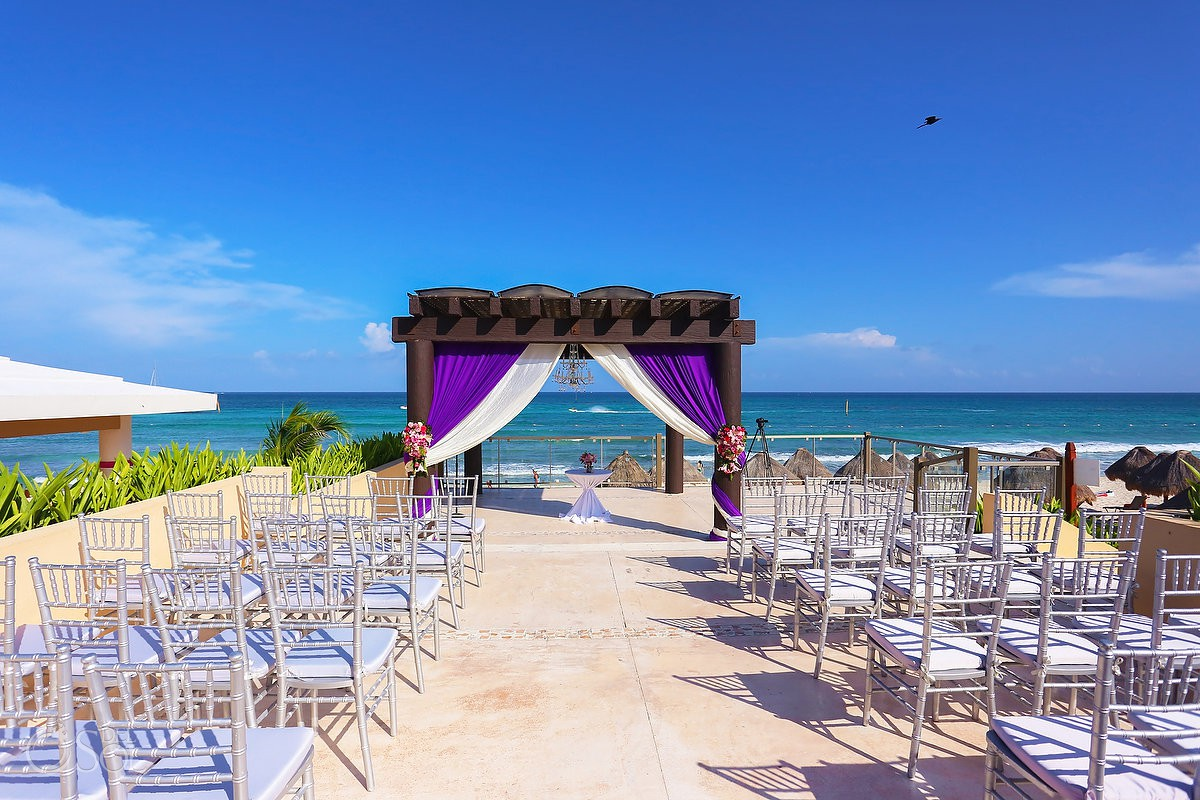 Now Jade Wedding Ceremony Set Up Ideas Puerto Morelos Mexico