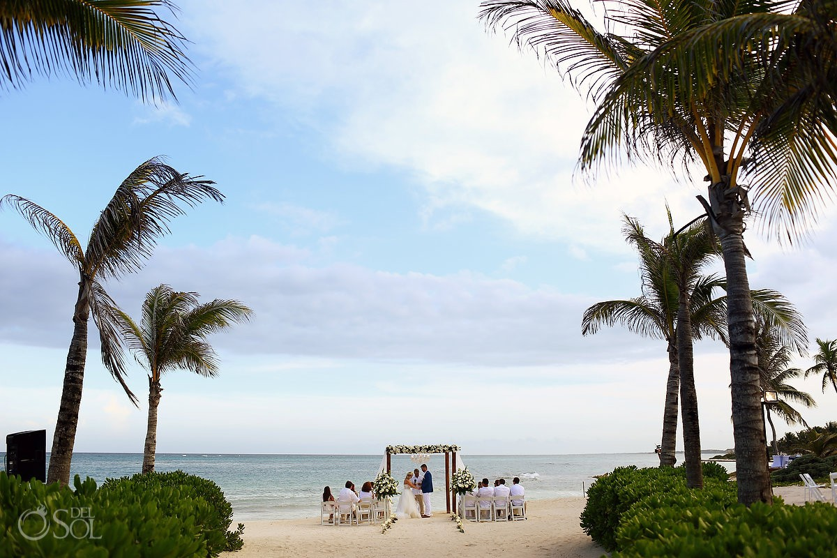 Destination wedding venue Dreams Tulum Riviera Maya Mexico