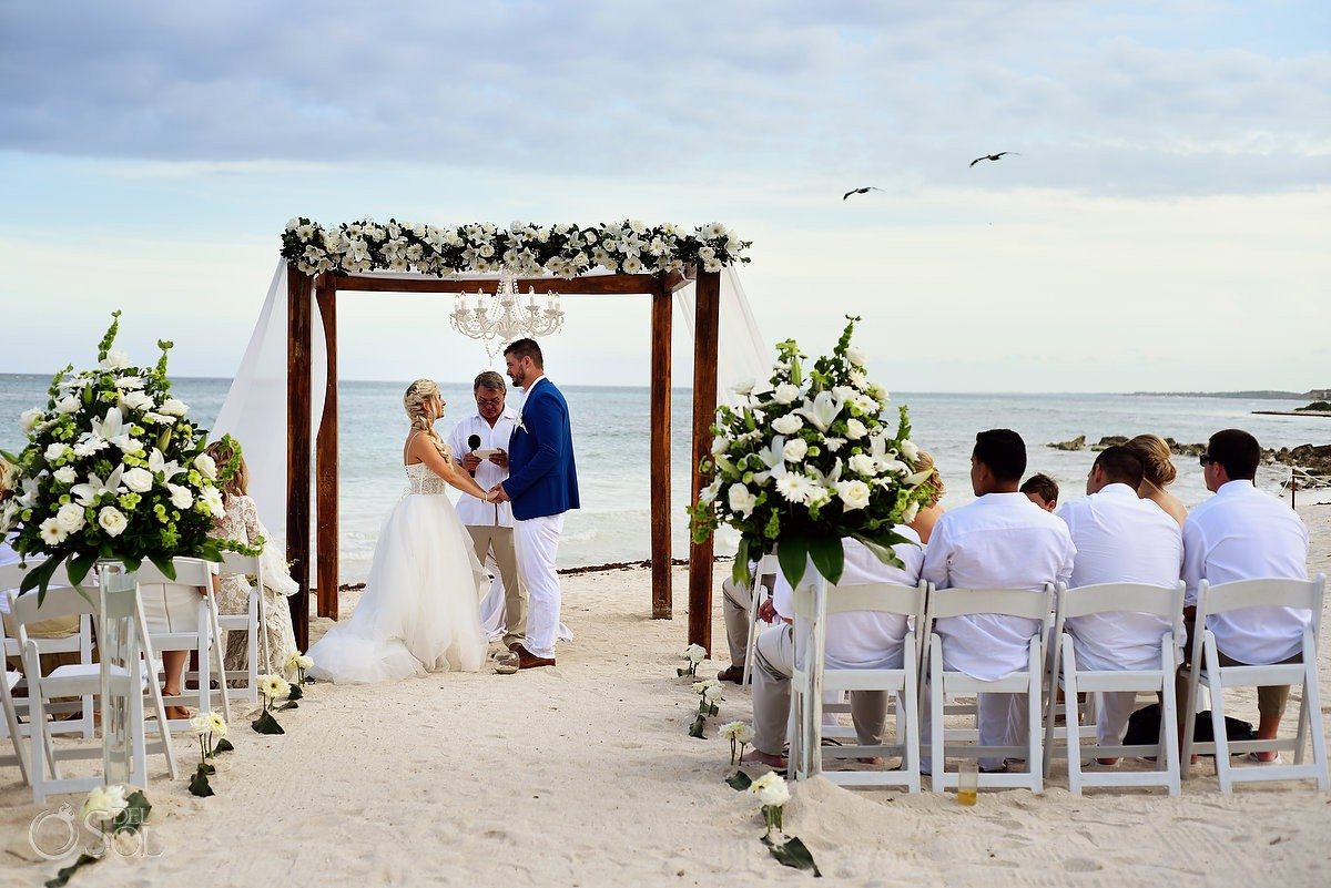 Best destination weddings for getting ready Dreams Tulum Riviera Maya Mexico