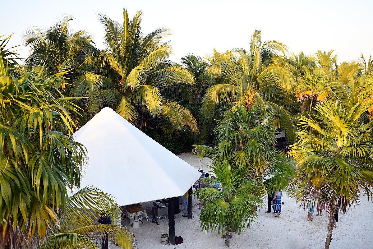 Venue for get married Destination beach wedding Zalazzar Beach Bungalows Sian Kaan Tulum