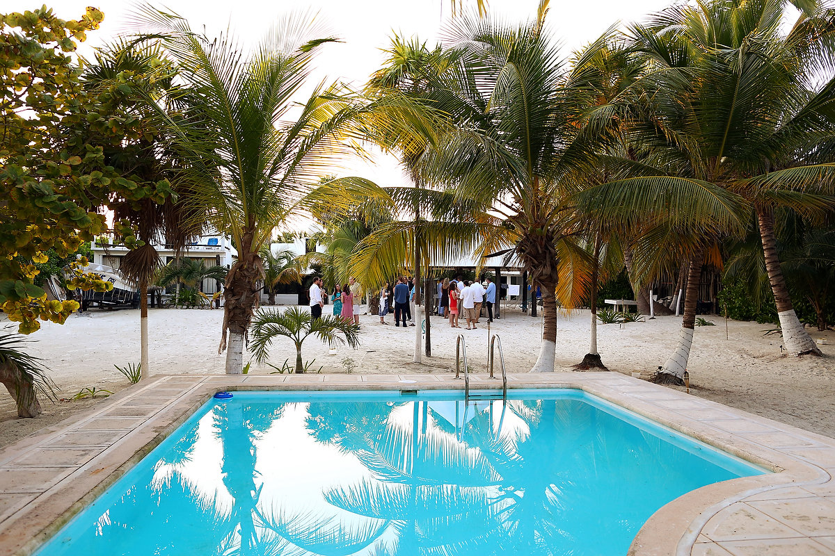 Destination Wedding Venue Zalazzar Beach Bungalows Sian Kaan Tulum