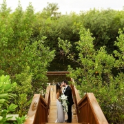 Portraits bride and groom Riviera Maya Andaz Mayakoba wedding Playa del Carmen Mexico.
