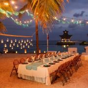 Dreams Puerto Aventuras Wedding reception decoration