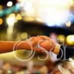 Best wedding photography bride and groom first dance Dreams Puerto Aventuras Riviera Maya Mexico