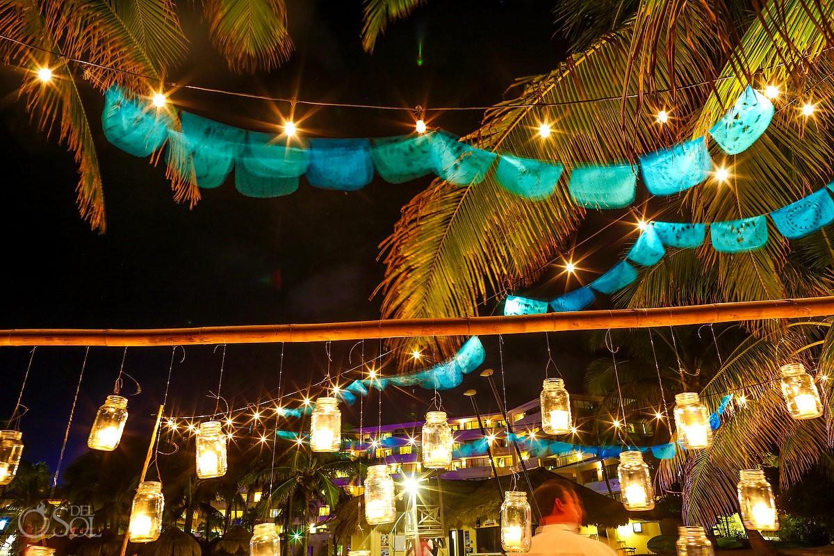 Best wedding venue decoration ideas Dreams Puerto Aventuras Riviera Maya Mexico