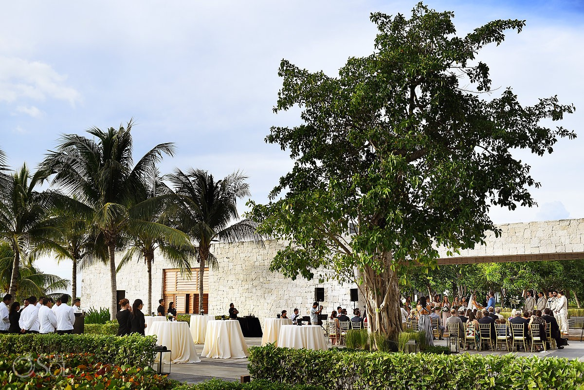 Best Wedding venue to get married Nizuc Resort Cancun Mexico Enchanted Jetty