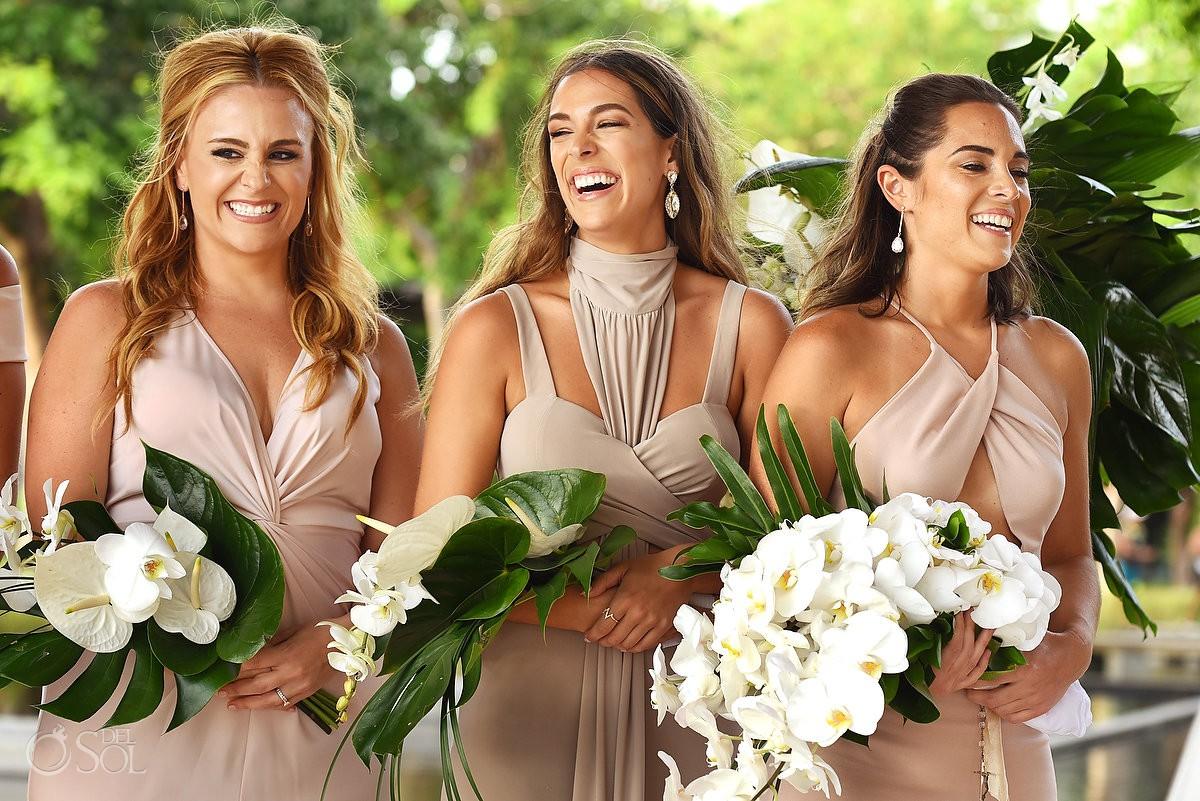 Wedding fun moments Nizuc Resort Cancun Mexico