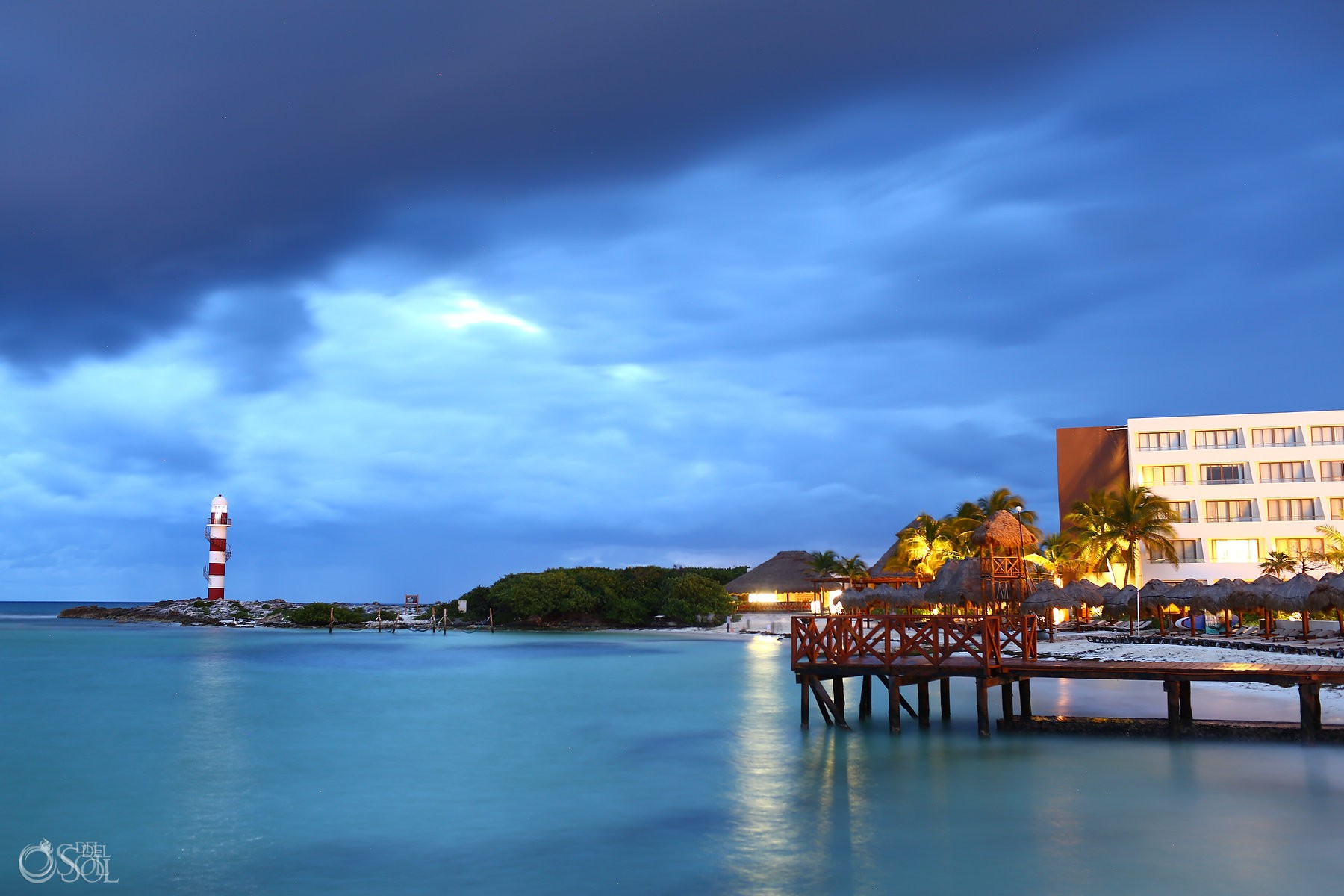 epic sky ocean view at Hyatt Ziva Cancun, Mexico del sol photography