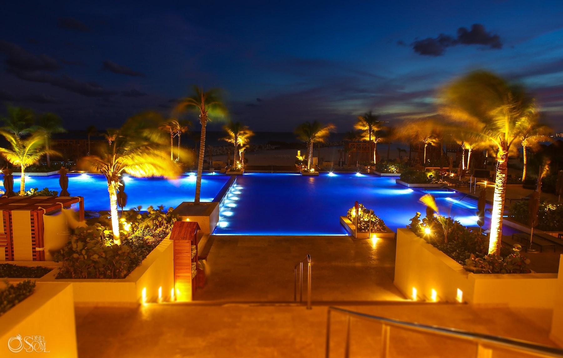 Luxury destination wedding venue hyatt ziva cancun mexico