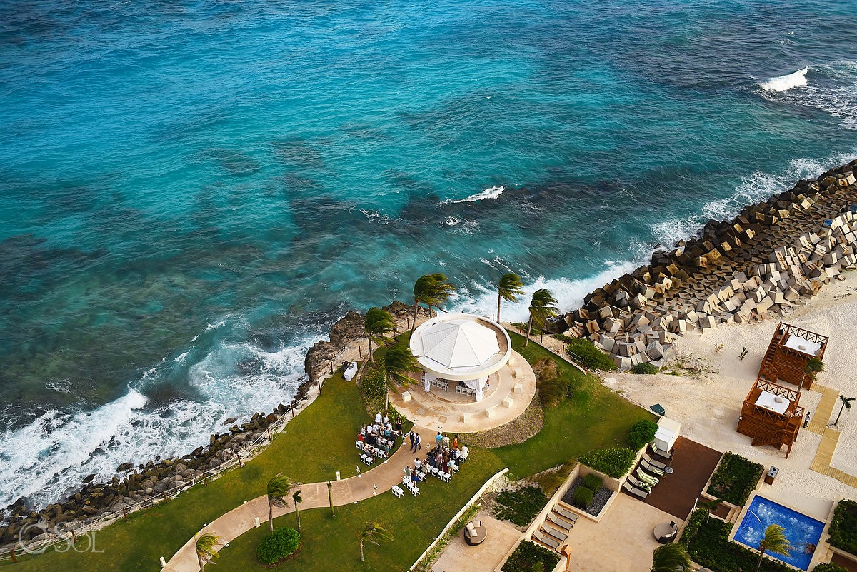 Best venue ideas to get married Same sex Destination Wedding Hyatt Ziva Cancun Mexico
