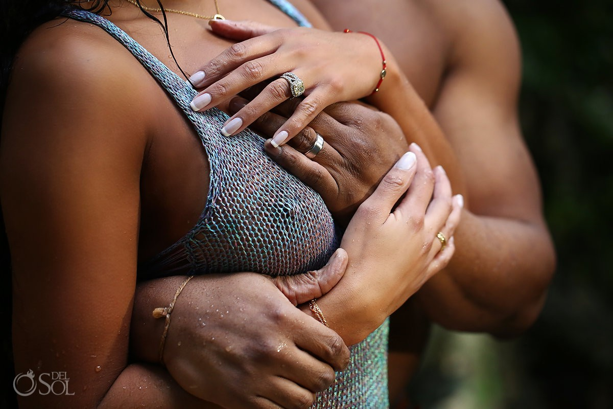 Cenote Trash the Dress best photographer Riviera Maya Mexico