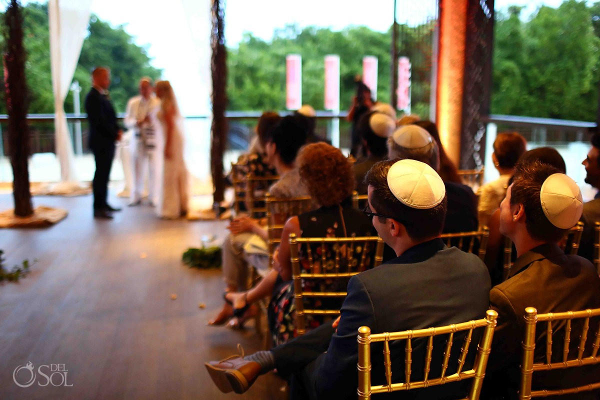 Love is love jewish ceremony Paradisus Playa del Carmen Riviera Maya Mexico Wedding
